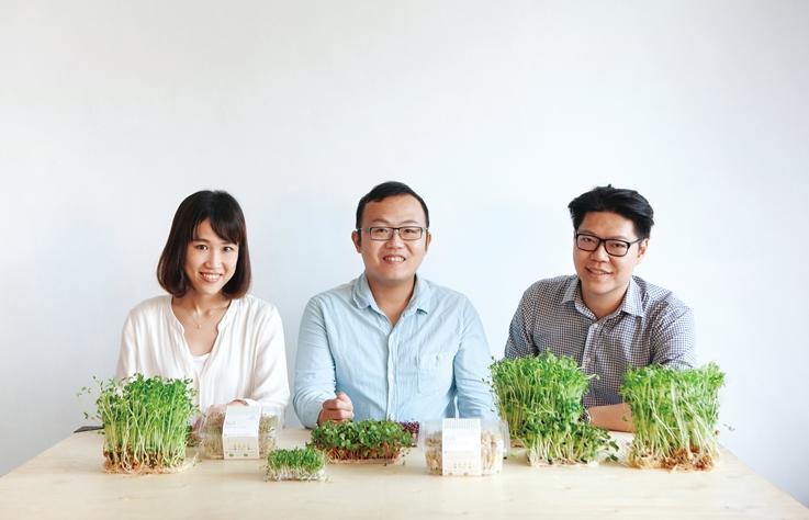 綠藤生機創辦人廖怡雯以善良灌溉土地,用溫柔改變地球