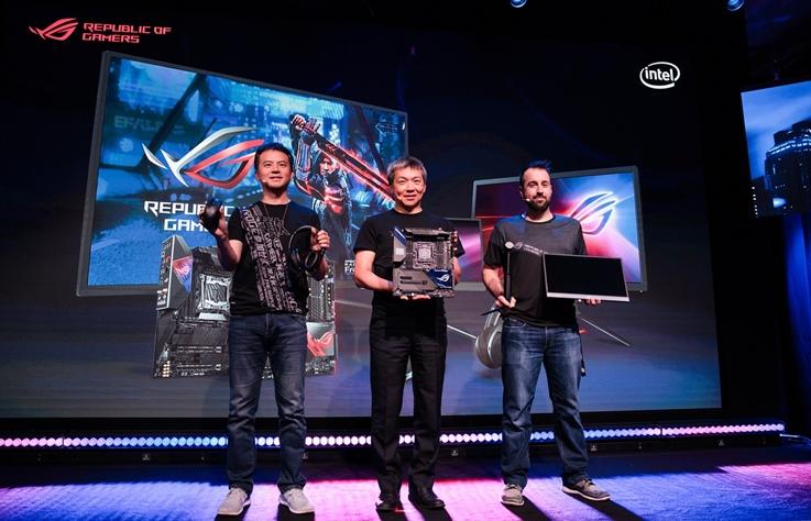 ROG 於科隆電玩展舉辦新品發表會,多款電競新品一次發表