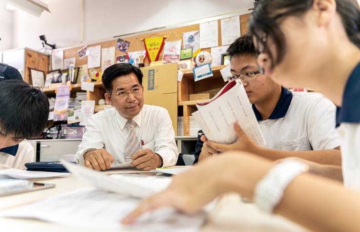 專訪|教育部長潘文忠:貫徹以人為本的教育,讓孩子做自己的主人