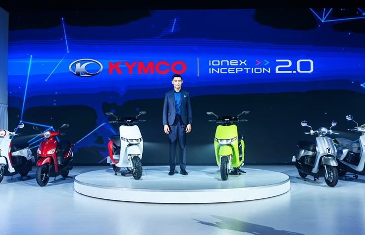 KYMCO 發表電動新車 i-One X,你覺得有像 Gogoro 嗎?