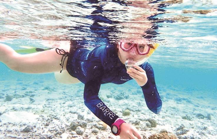 美得讓人忘記呼吸,來去蘭嶼浮潛